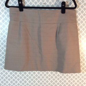 J.Crew size 10 pleated career skirt